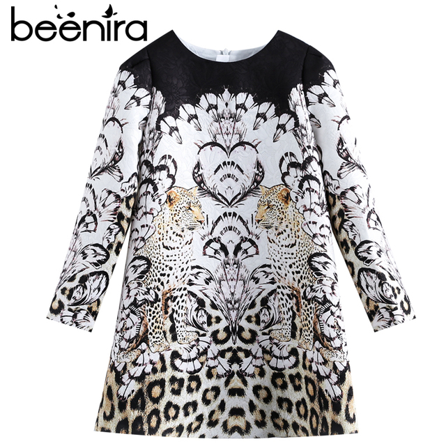 Beenira Children Winter Dress 2019 New Fashion Style Kids Long-Sleeve Animals Pattern Dress Design 3-14Y Exquisite Clothes Dress