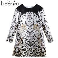 Beenira Children Winter Dress 2017 New Fashion Style Kids Long Sleeve Animals Pattern Dress Design 3