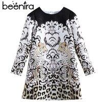 Beenira Children Winter Dress 2018 New Fashion Style Kids Long Sleeve Animals Pattern Dress Design 3 14Y Exquisite Clothes Dress