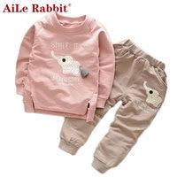 Free Shipping Retail Cartoon Minnie Children Clothing Set 2 Pcs Suit Girl S Dot Dress Tops