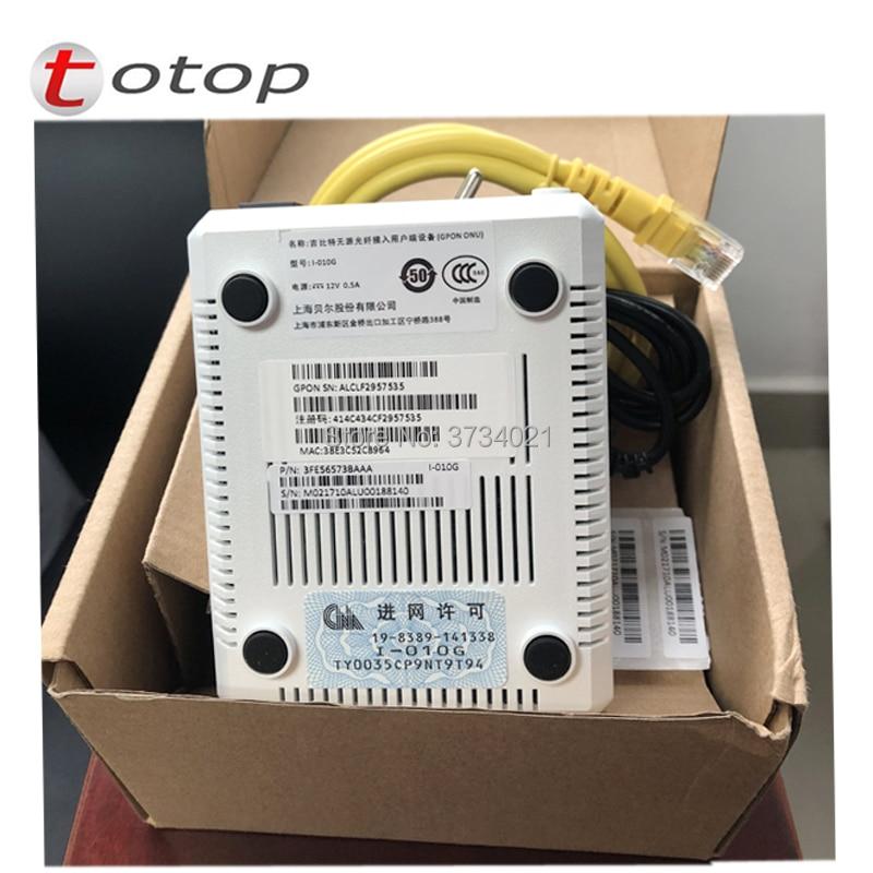 Alcatel Lucent I-010G GPON ONU 1GE ONT