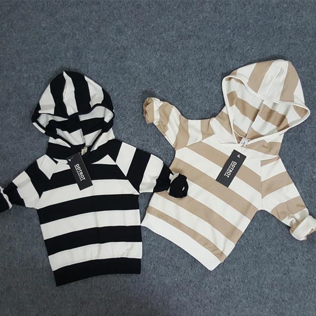 Sudaderas con capucha de los niños de algodón de manga larga niño niña ropa suéter jumper otoño invierno GD-04