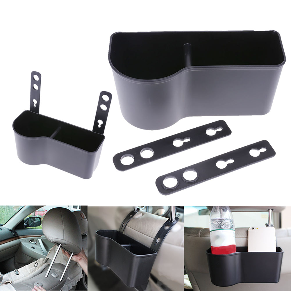 Adjustable Car Seat Back Organizer Mounted Hanger Auto Organizers For holding drink,bottle, food,change,smart phone