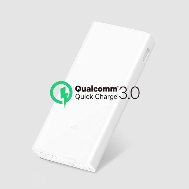 מקורי Xiaomi כוח בנק 20000 mAh בנק סוללה חיצוני מטען נייד USB הכפול 2C Mi 20000 עבור טלפונים ניידים טבליות