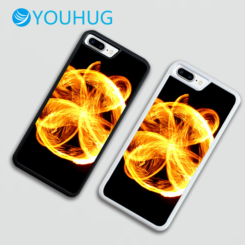 YOUHUG Creative Fireball Back Cover Phone Case TPU Case for IPhone 5 5 6 6 6 7 8 6 / 6s / 7/8 Plus Case for IPhone 7 Cover