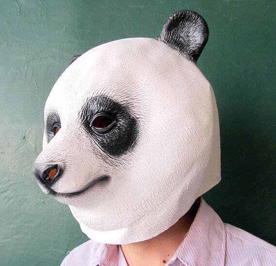 Disfraz de panda de máscara de cabeza de animal nuevo y caliente - Para fiestas y celebraciones - foto 3