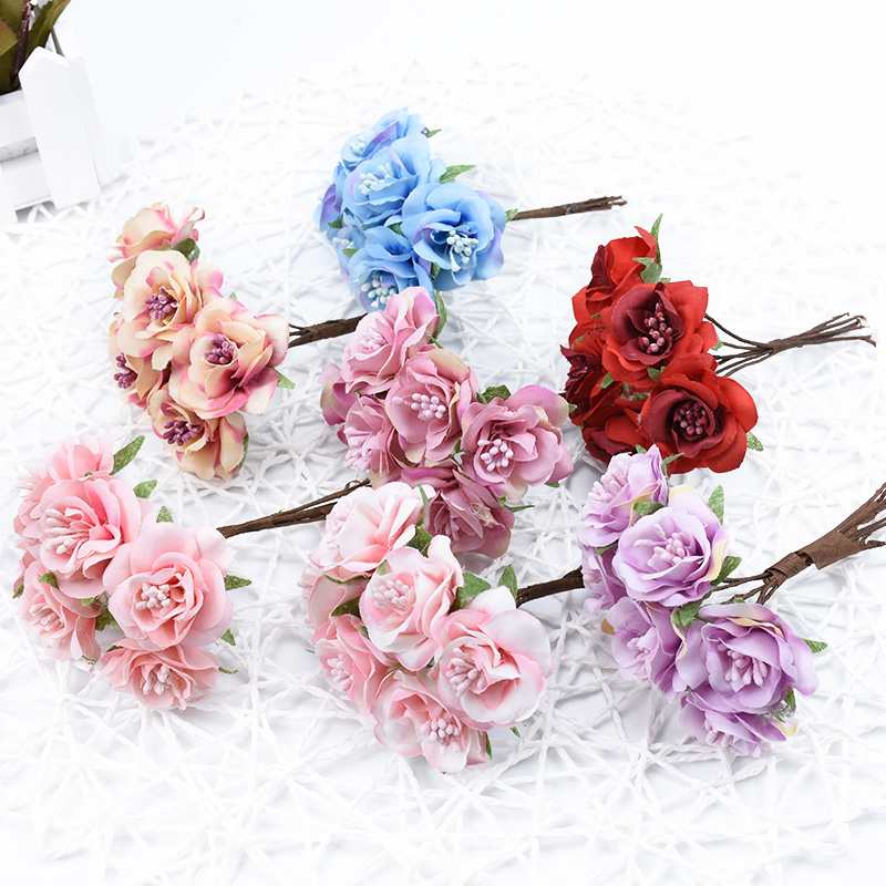 Best Offer] 6pcs Vases for home decor wedding bridal