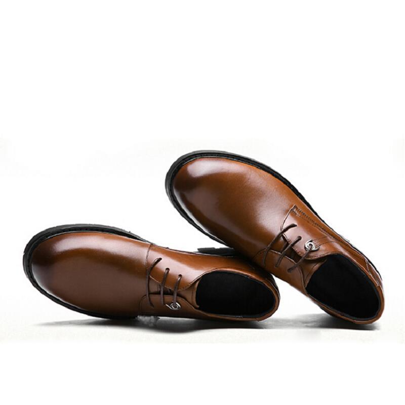 Negócios marrom Homens Qualidade Preto Sapatos Couro Vestido Up Lace Northmarch Sapata Britânico Top Marrom De PqCqTfw