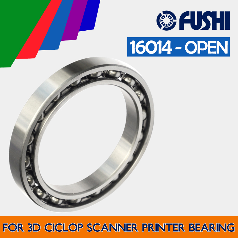 16014 OPEN BEARING 70x110x13mm ( 1 PC ) For 3D Ciclop Scanner Printer Ball Bearings free shiping ciclop diy 3d three dimensional scanner adapter plate precision machine parts for 3d printer parts