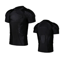 2017 Sports Honeycomb Anti Collision Suit Anti Collision T Shirt Vest Basketball Rugby Collision Equipment