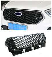 FRONT RACING GRILL GRILLS BUMPER MASK FIT FOR FORD KUGA ESCAPE 2017 2018 CAR GRILLE