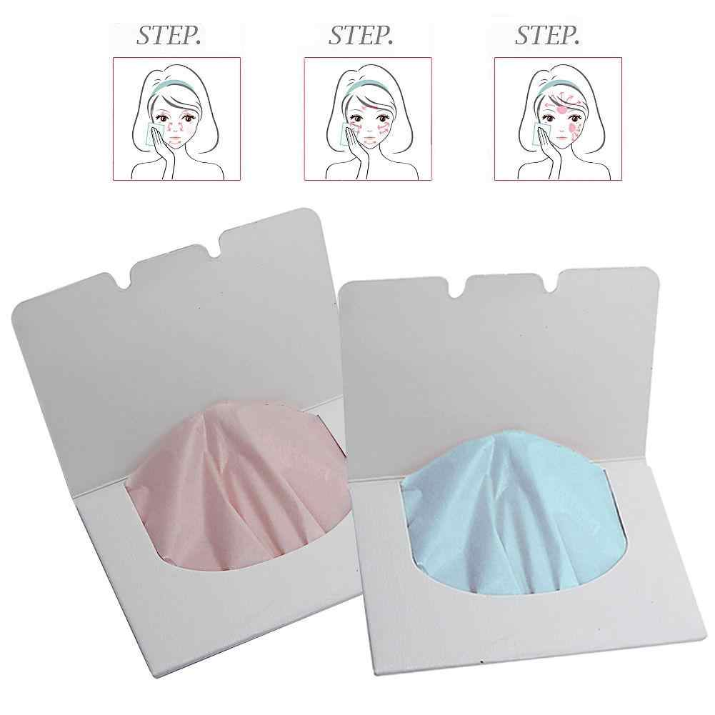 HOT 100Sheets New Make Up Remover Tool Oil Absorbing Paper Blotting Face Cleaning Tool Facial care tool Makeup