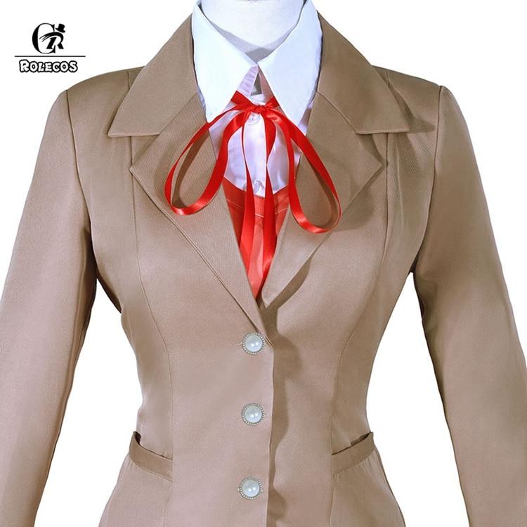Compre Doki Doki Literature Club Monika Cosplay Sayori Yuri Natsuki ... 247a02226715