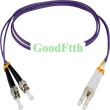 Fibra Óptica Patch Cord Jumper ST LC LC ST OM4 Multimodo Duplex GoodFtth 20 100 m