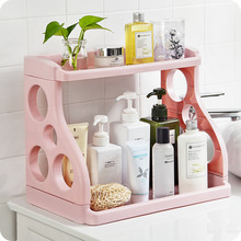 Creative multifunctional kitchen racks plastic finishing storage rack seasoning ideas bathroom multi-storage