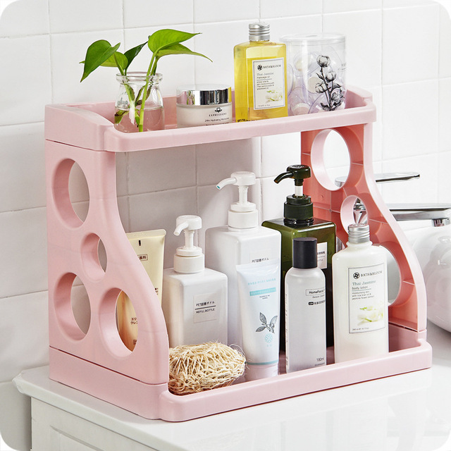 Us 16 85 23 Off Creative Multifunctional Kitchen Racks Plastic Finishing Storage Rack Seasoning Ideas Bathroom Bathroom Multi Storage Rack In Racks