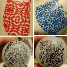 Paraíso 2016 profesional Nail Art Stamping Herramientas Sello Cuchillo Que Raspa Set Portátil Accesorios Envío Gratis May09