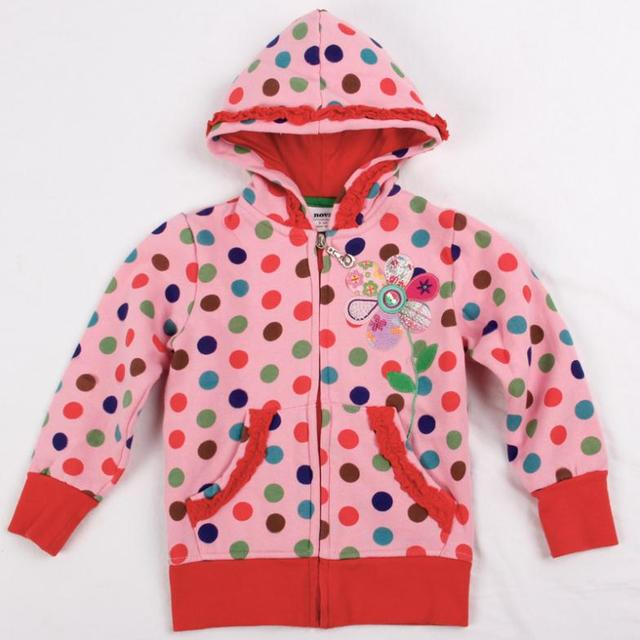 4abd36826 pink kids hoodies children wear jacket zipper new year Sweatshirts ...