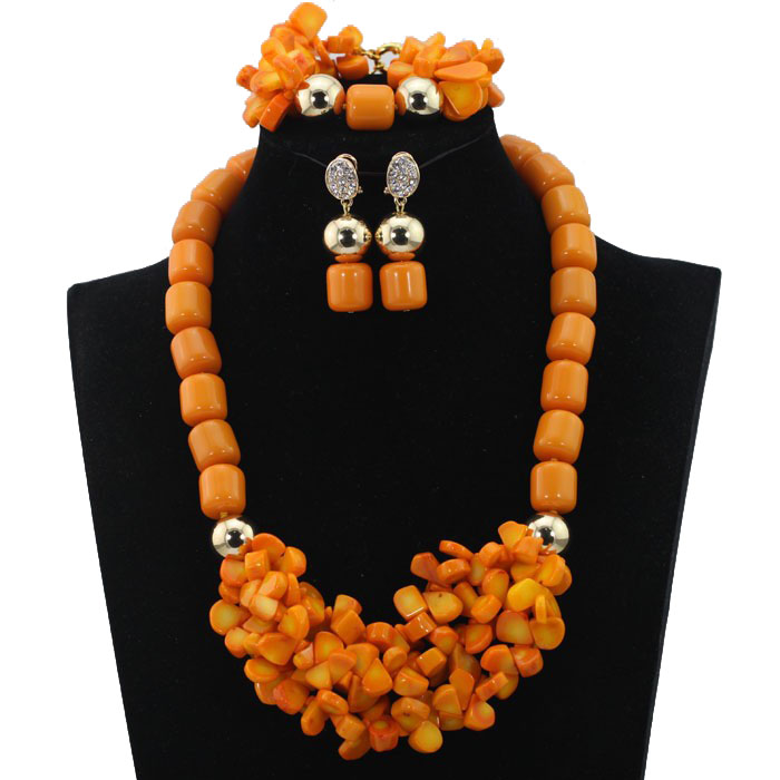 Splendid Jewelry Sets for Brides Bridal Coral Beads Necklace Jewelry Set Handmade Free Shipping hx286Splendid Jewelry Sets for Brides Bridal Coral Beads Necklace Jewelry Set Handmade Free Shipping hx286