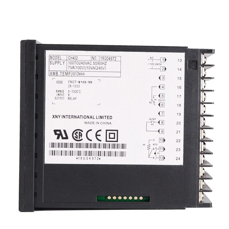 Digitální termoregulátor termostatu na pečení PID regulátor - Měřicí přístroje - Fotografie 4