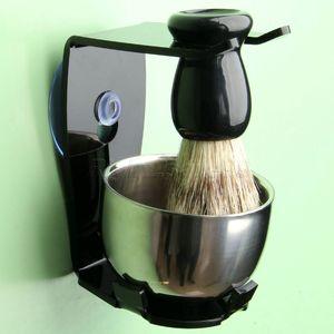 Image 1 - Shaving Brush Set  Shaving Razor Badger Hair Shaving Brush With Stand Holder Beard Shaving Kit Soap Bowl Cleaning Brush