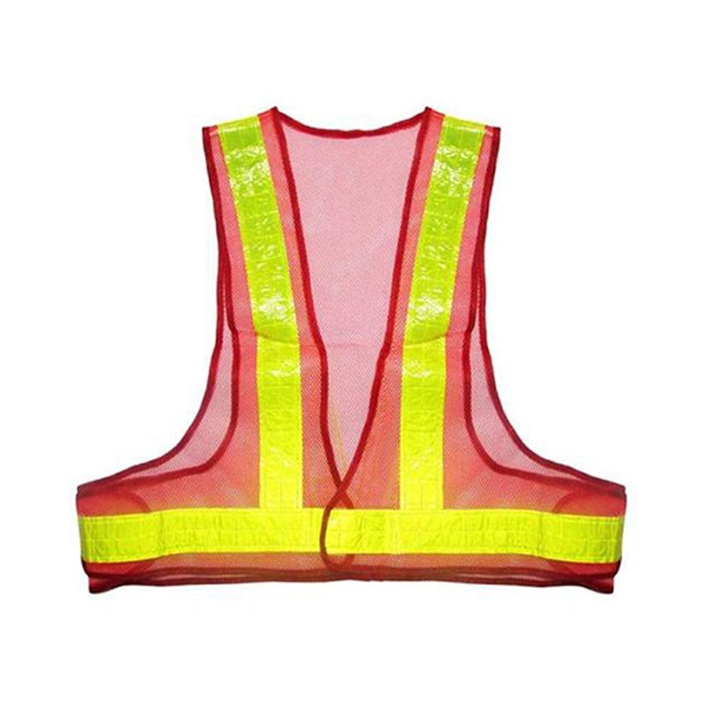 Dag Nacht Zichtbaarheid Reflecterende Vest Bouw Beveiliging Stripes Unisex Werkkleding Beschermende Veiligheid Tops Mesh Stof
