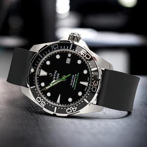 Image 5 - Maikes pulseira de relógio, pulseira de relógio de borracha 20mm 22mm 24mm fluoro, acessórios de pulseira de relógio para huawei gt seiko relógio de cidadão