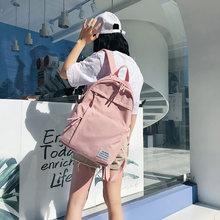 Новый детский рюкзак повседневный холщовый для путешествий унисекс