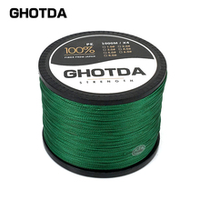 Super Power GHOTDT Fishing Line Braided PE Multifilament 4 Weaves 18lb 28lb 35lb 40lb 50lb 60lb 80lb
