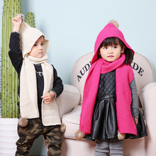 small scarf Korean version of the lovely wool children's scarf men and women baby scarves thicker models in winter optional S113