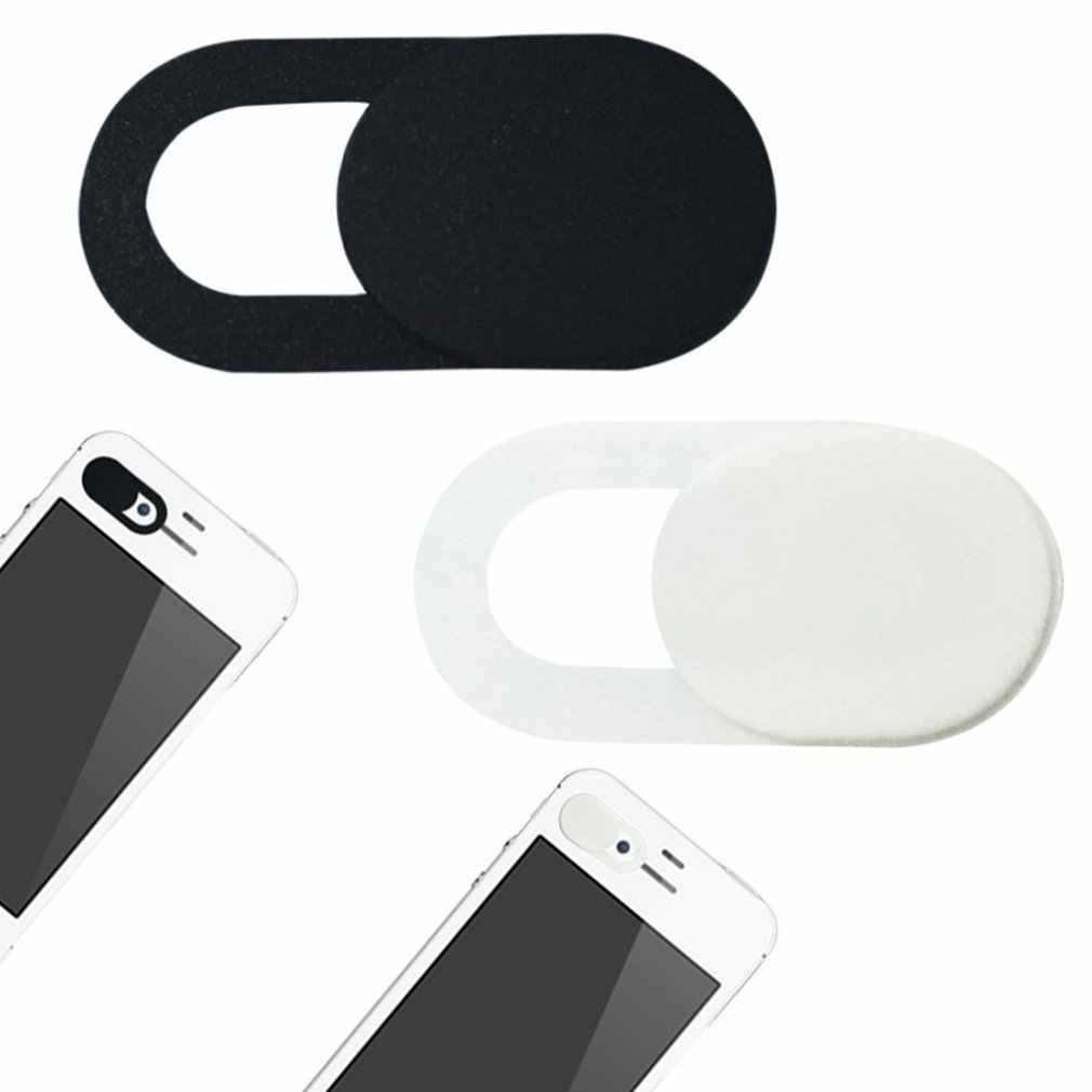 ミニプラスチックスライダーカメラカバー抗ハッカー盗撮シャッター保護装置ラップトップ Pc の Mac iPad