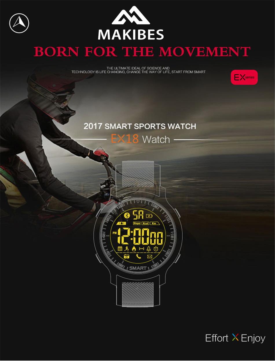 Makibes EX18 Bluetooth Sport Watch (1)