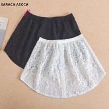 Wholesale Retail Fashion Lace White Fake Skirt Hem