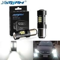 2 pièces 1156 BA15S P21W LED BAU15S PY21W BAY15D ampoule LED 1157 P21/5 W R5W 21 pièces 3030SMD Auto lampe ampoules voiture LED lumière 12 V-24 V