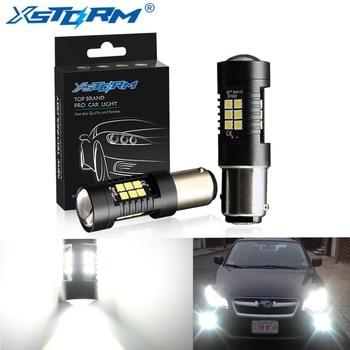 2 sztuk 1156 BA15S P21W LED BAU15S PY21W BAY15D LED żarówki 1157 P21/5W R5W 21 sztuk 3030SMD lampa samochodowa żarówki samochodowe LED 12V - 24V