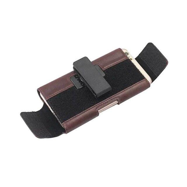 تدوير حزام كليب الحقيبة الحال بالنسبة لسامسونج غالاكسي S10 زائد لايت A8S A6S غطاء عالمي حقيبة الهاتف الحال بالنسبة لسامسونج A7 A9 2018