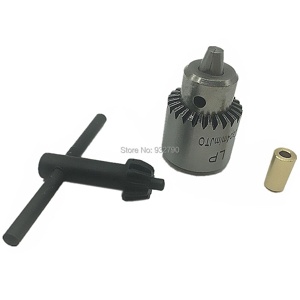 Electric Drill Chuck Adaptor Mini 0.3-4mm Rotary Tool Key Drill Chuck Jt0 Taper