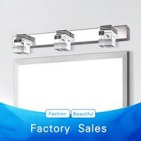 Farol lente LEVOU luz do banheiro contemporânea e contratados lâmpada agir o papel ofing cristalina luz quarto banheiro