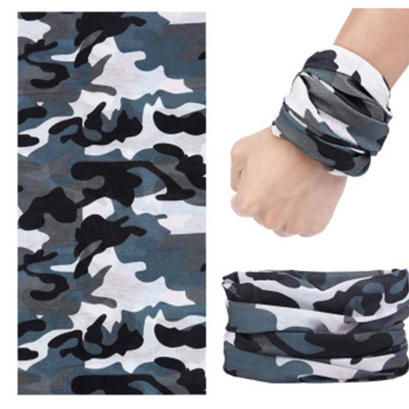 Multi Use Face Shield Scarf Bandana For Men Motorcycle Unisex Scarves Wrap Camo Tactical Mask Shemagh Military Neck Gaiter buffe