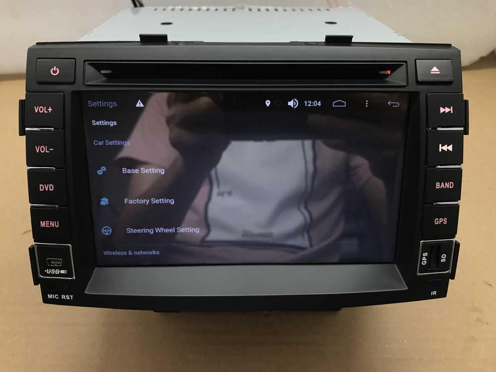 """BYNCG 7 """"2din Android 8.0 samochodowe ODTWARZACZ DVD dla kia sorento 2006-2012 z 2G RAM Wifi 3G GPS Bluetooth MP3/4 ekran dotykowy z radiem"""