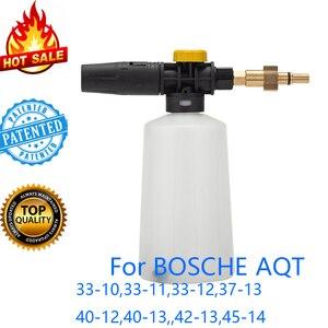 Image 1 - Sabão Arma Foamer/Bocal de lança de espuma de Neve/gerador de espuma/Shampoo de Lavagem de Carro de Alta Pressão Do Pulverizador para BOSCHE máquina de lavar