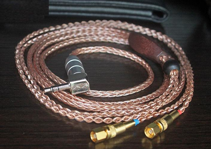 5N single crystal copper 8-strand hand-woven HE500 HE600 upgrade line 1.5meter