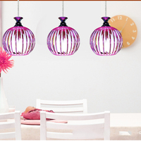 Simple Acrylic Crystal Glass Ball E27 LED Personality Creative Chandelier for restaurant living room bedroom kitchen hotel room
