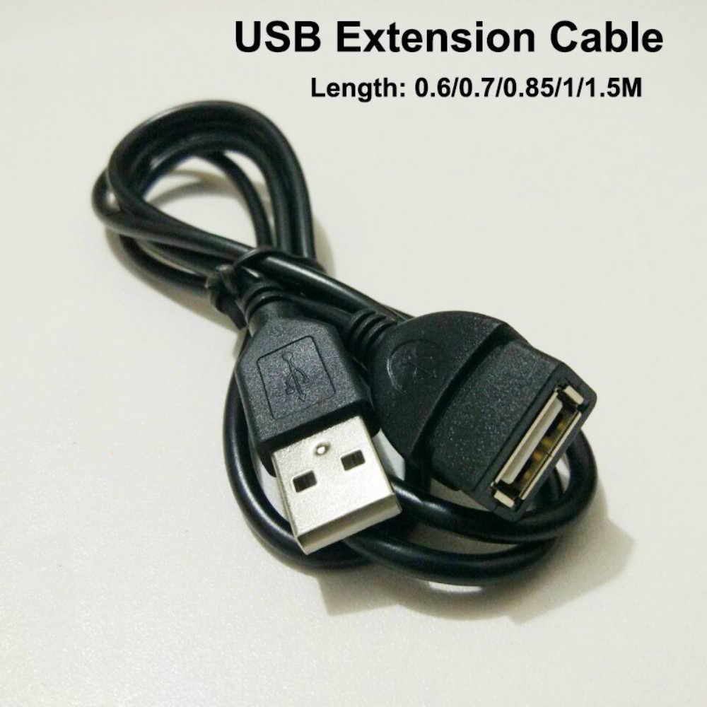Câble d'extension USB Super vitesse USB 2.0 câble mâle à femelle synchronisation des données USB 2.0 cordon d'extension pour PC TV téléphone Mobile MP4 MP3