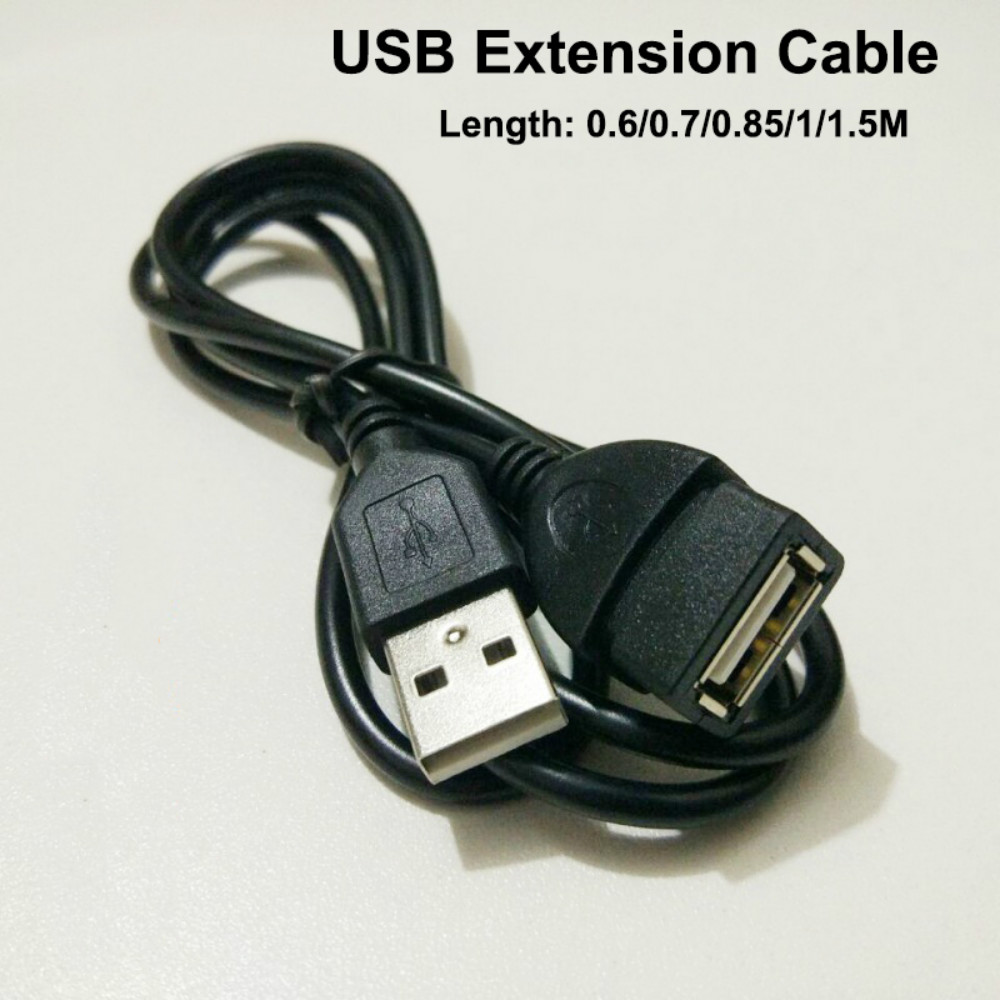 USB Extension Cable Super Speed USB 2.0 Cable Male to Female Data Sync USB 2.0 Extender Cord for PC TV Mobile phone MP4 MP3