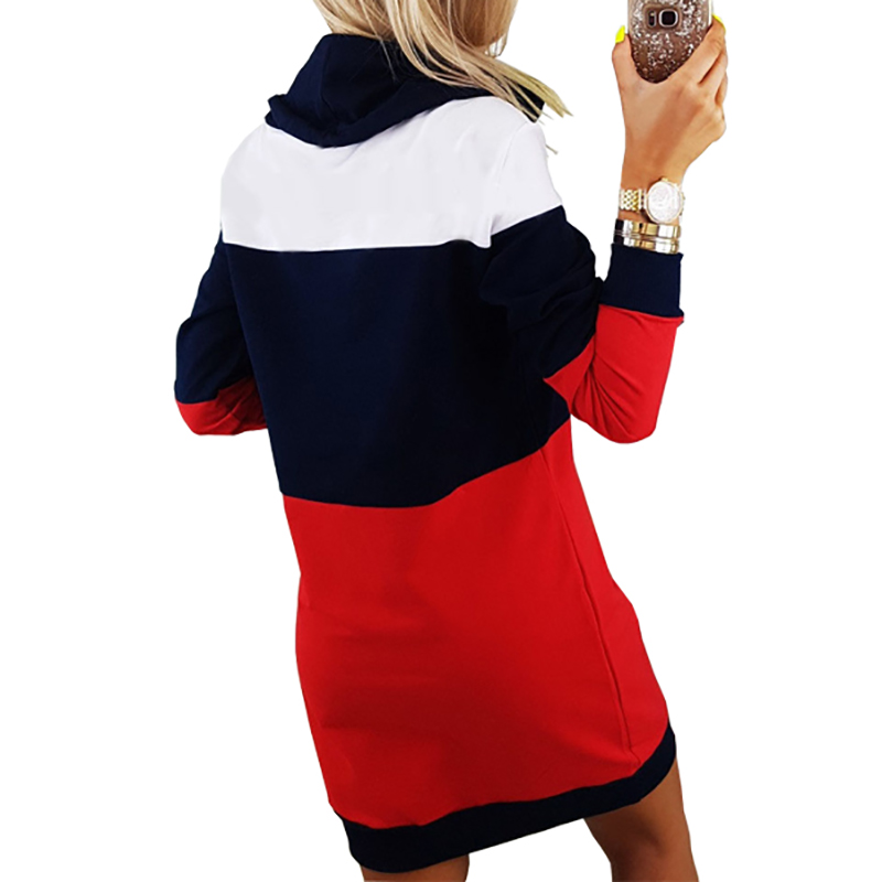 Women Winter Turtleneck Long Sleeve Hooded Plus Size 2018 Autumn ... 91292025f84e