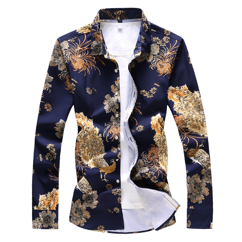 High Quality 7XL 6XL 5XL Plus Size Shirt Men Brand New Casual 