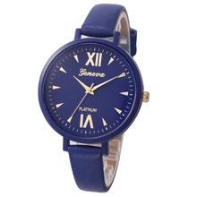 Scorching Sale Style elegant Girls Fake Leather-based Analog Quartz Wrist Watch Wholesale Free Delivery