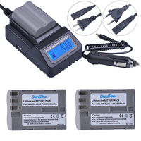 2pc EN EL3e EN EL3e EL3a ENEL3e Rechargeable Battery LCD Fast Charger For Nikon D70 D70S