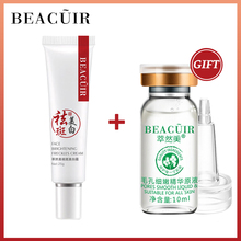 Buy 1 Get 1 Gift Collagen Freckles Whitening Face Cream+Hyaluronic Acid Shrink pores Serum Remove Spots Firming Dark Circles стоимость